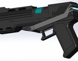 3d print model dc-15s republic commando blaster pistol