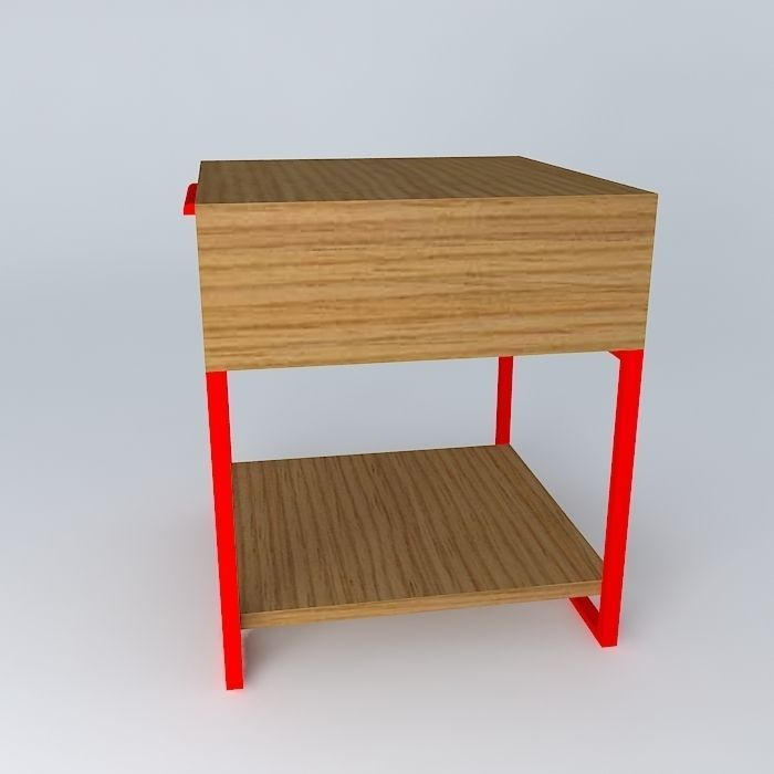 criado mudo bed side table mesa canto side table end table free 3D ...