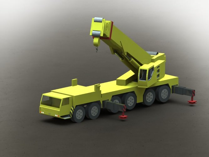 Mobile Crane Revit Family : Moved permanently
