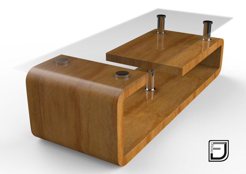 Coffee table 10 3d model obj 3ds fbx c4d for Coffee table 3d model