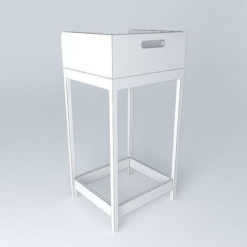 bar stool banqueta de bar free 3D Model .max .obj .3ds .fbx .stl .dae ...