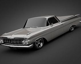 1959 Chevrolet El Camino 3D model