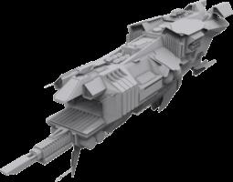 Pirate Mothership 3D model