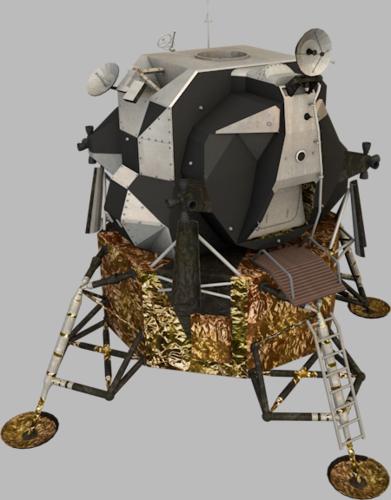 Apollo Lunar Module3D model