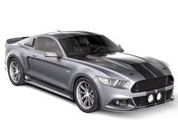 Eleanor Ford Mustang GT500 Shelby Cobra 2015-2020 3D Model