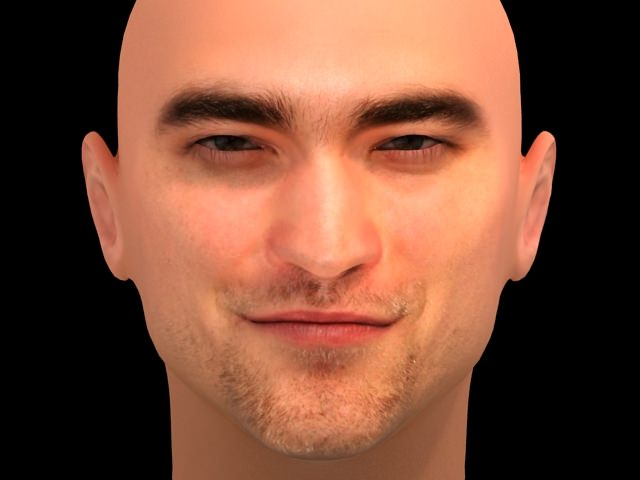 Robert Pattinson 3D Model .max .obj .3ds .hrc .xsi - CGTrader. Robert Pattinson