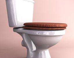 3D Toilet toilet
