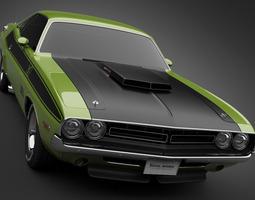 1971 Dodge Challenger TA 3D Model