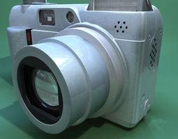 olympus c7000 3d model 3ds c4d