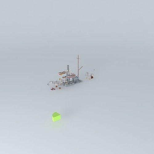 Kaiserliche Marine Kanonenboot SMS Afrika FULL INTERIOR  part...