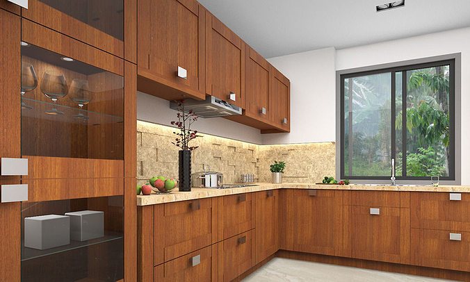 Modern kitchen 3d 3d cgtrader for New model kitchen