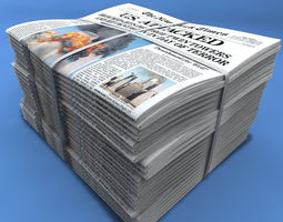 3d newspapers