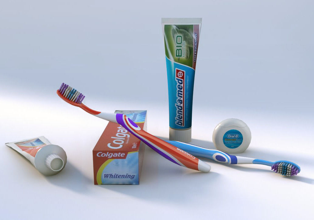 Oral hygiene set