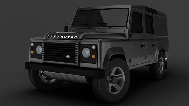 land rover defender 3d model max obj 3ds mtl. Black Bedroom Furniture Sets. Home Design Ideas