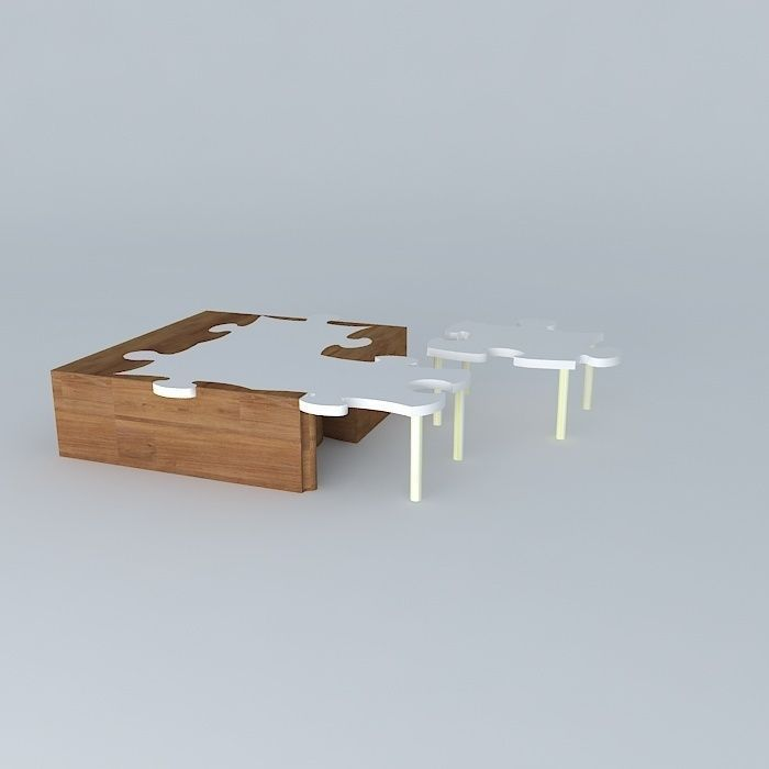 Quot Puzzle Coffee Table So Quot For Those 3d Model Max Obj 3ds Fbx Stl Dae
