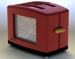 3d giant toaster
