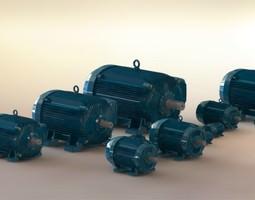 weg electric motors 3d