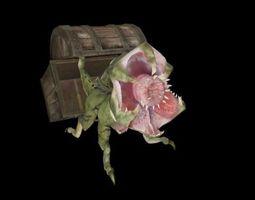 Treasure Chest Guardian  3D Model