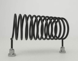 Brandoni Molly - Floor Heating Radiator 3D