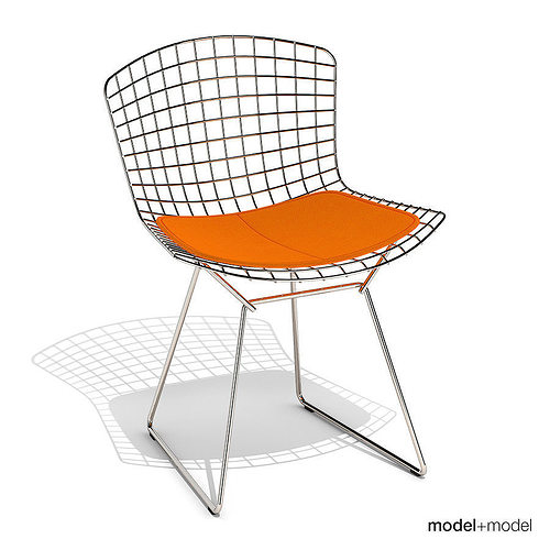 Knoll Bertoia Side Chair 3D Model