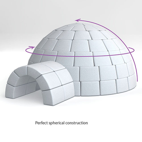 igloo  model obj ds fbx cd cgtradercom