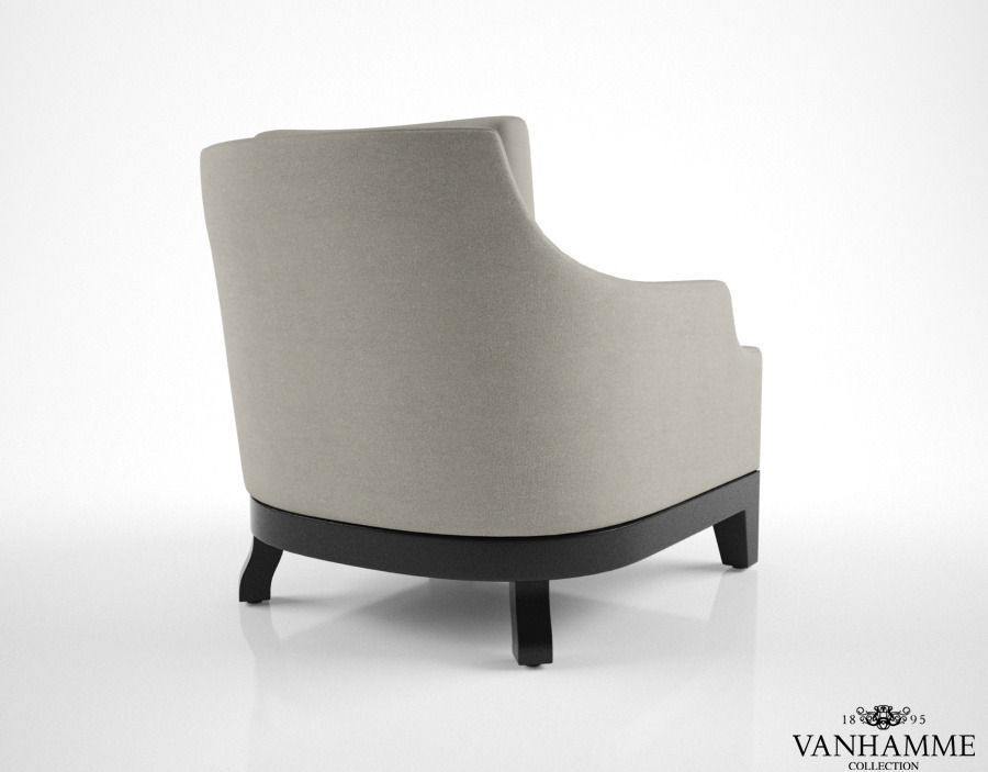 Vanhamme cosy armchair 3d model max for Cosy armchair