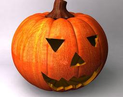 Pumpkin 3D face