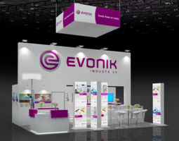EVONIK VIV ASIA 2013 3D Model
