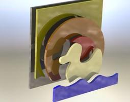 Duck asm 3D model