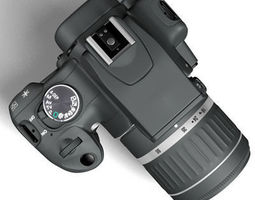 Canon 400D 3D Model