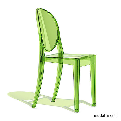 Charmant Kartell Victoria Ghost Chair 3D Model