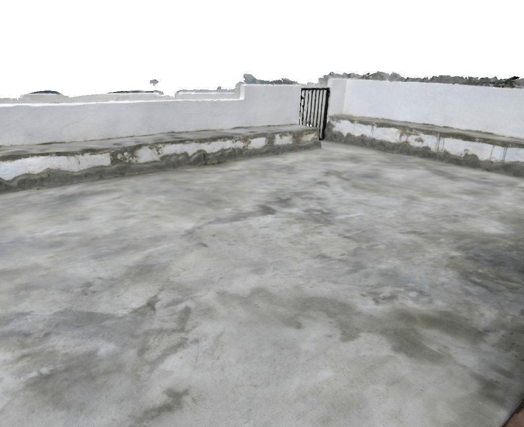 ... Concrete Terrace 3d Model Low Poly Obj Dxf Mtl ...