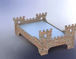 Fort bed 3D