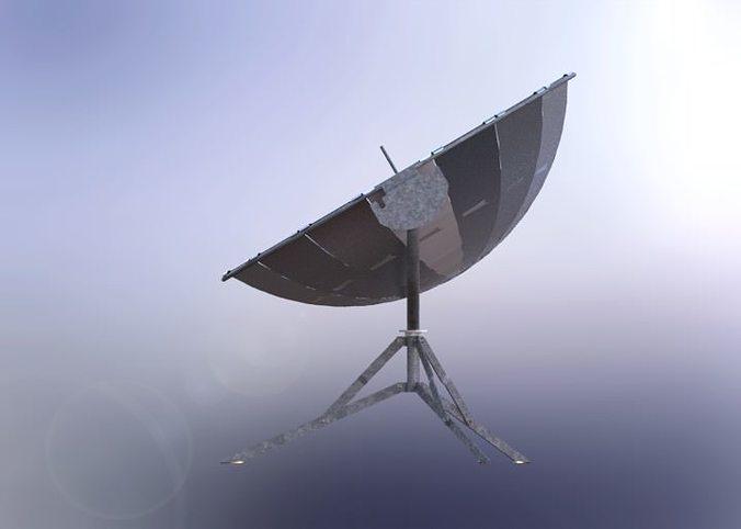 solar cooker 3d model sldprt sldasm slddrw ige igs iges rfa rvt 1