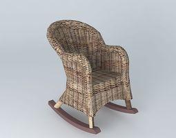 Rota 3d models download 3d rota files - Rocking chair maison du monde ...
