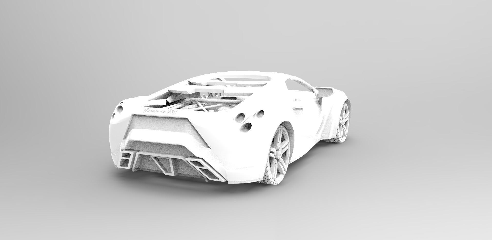 3d Printable Car Preview Version Free 3d Model 3d