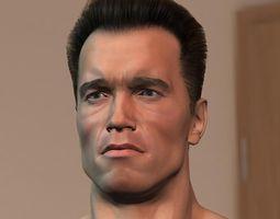 3d model Arnold Schwarzenegger 3D Model