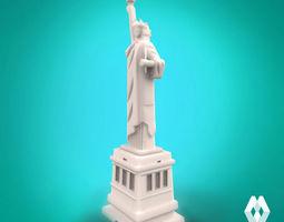 statue of liberty 3d printable model