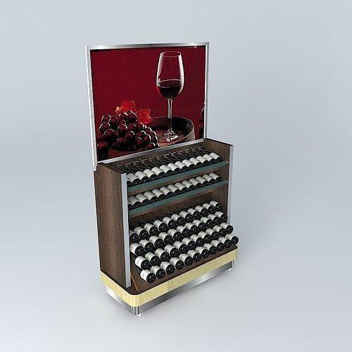 3D Model Kit604 Wine Cellar By Alex Marquess