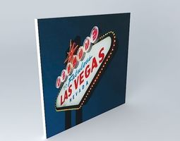 The Web Las Vegas Maisons du Monde 3D model