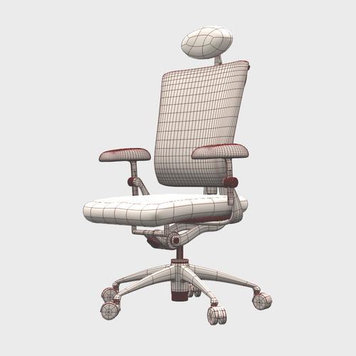 Vitra Ypsilon Office Chair 3d Model Max Obj 3ds Fbx