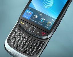 Blackberry Torch 9800 3D