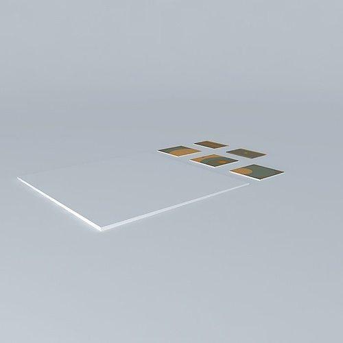 a world of bubbles cement tiles tiles marsh 3d model max obj mtl 3ds fbx stl dae 1