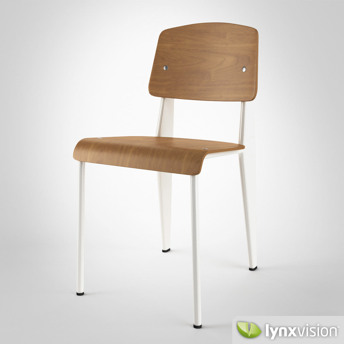 ... Standard Chair By Vitra 3d Model Max Obj Fbx Mtl 4 ...