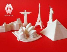 3d print model wanderlust miniatures collection