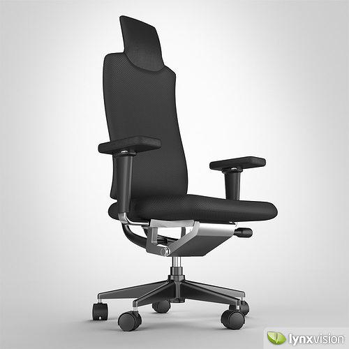 headline chair by vitra 3d model max obj fbx. Black Bedroom Furniture Sets. Home Design Ideas
