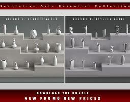 Decorative Arts Essential Bundle details 3D model
