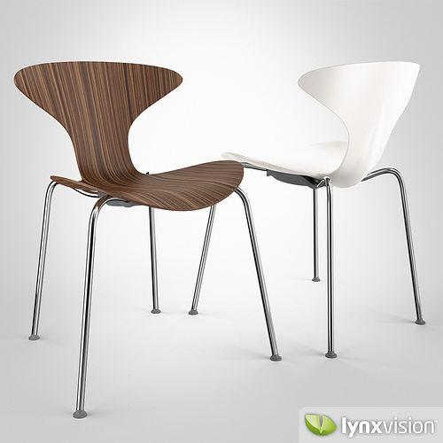 Orbit Chair by Ross Lovegrove 3D Model MAX OBJ FBX MTL