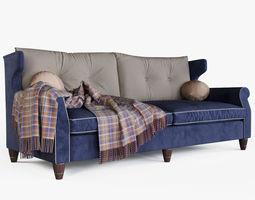 3D Brooklyn Extra Large Sofa