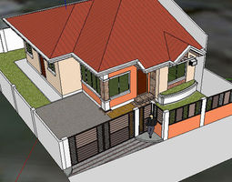 Bungalow 3d models download 3d bungalow files - Mediterrane mobel ...